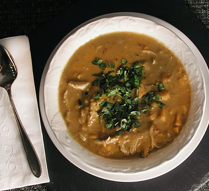 Peanut Stew with Chicken from Ghana | Panning The Globe