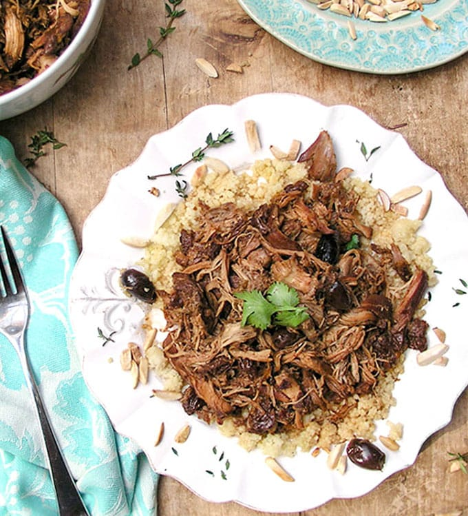 Slow Cooker Chicken Thighs With Dried Cherries And Leeks