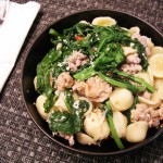 PASTA WITH SAUSAGE AND BROCCOLI RABE – from Italy