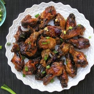 This Lime Apricot Chicken Wings recipe is super easy to prepare and the wings emerge from the oven sticky, tangy, sweet and spicy.
