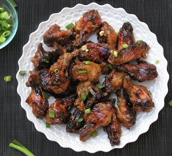 Lime Apricot Chicken Wings