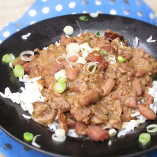 Red Beans and Rice recipe by Panning The Globe