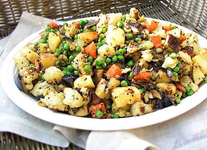 Roasted Vegetables from the Spice Islands| PanningTheGlobe.com