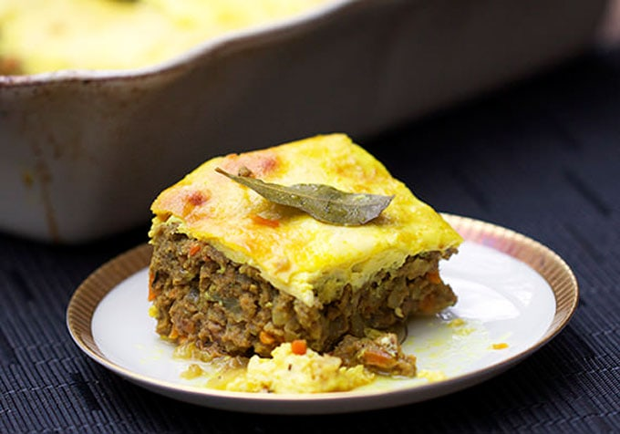 Bobotie South African Meatloaf L Panning The Globe