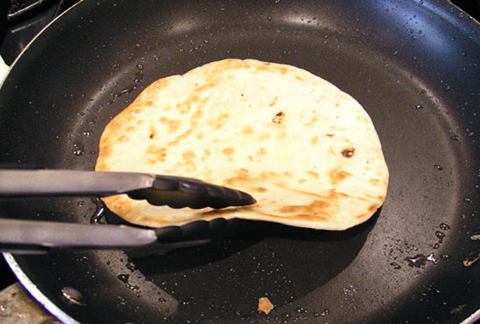 How to brown tortillas