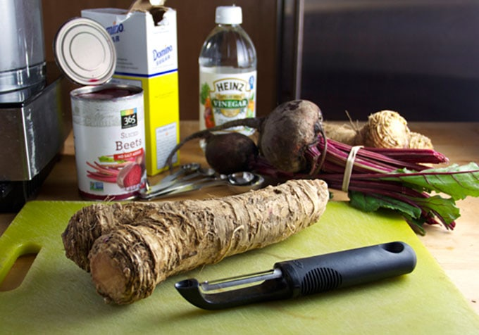 how to cut the taste of horseradish