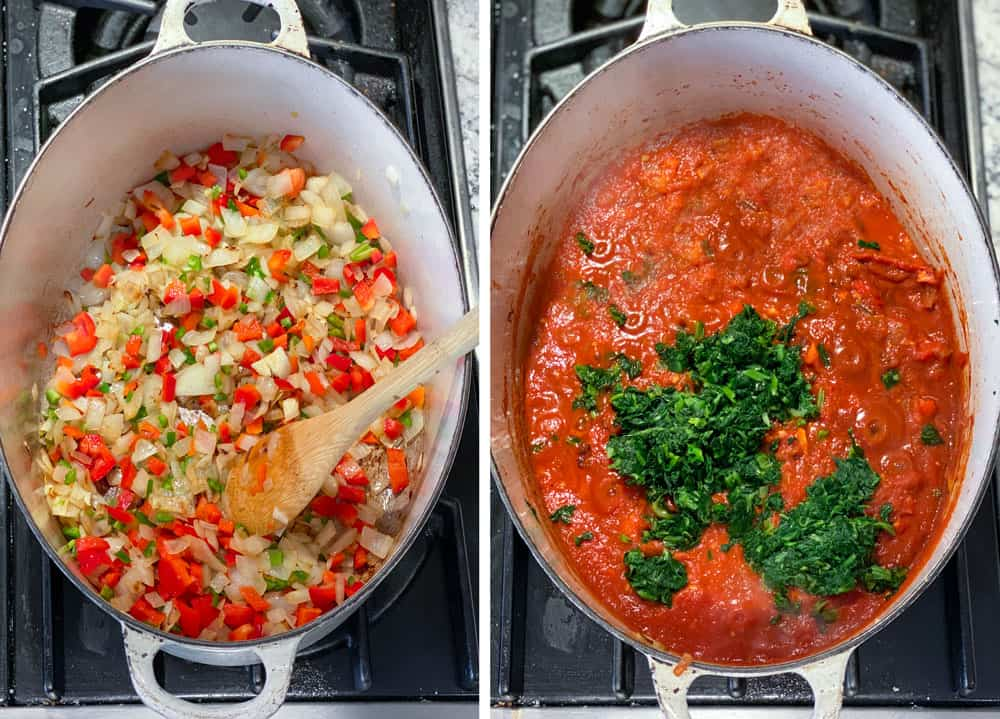 how to make the sauce for shakshuka