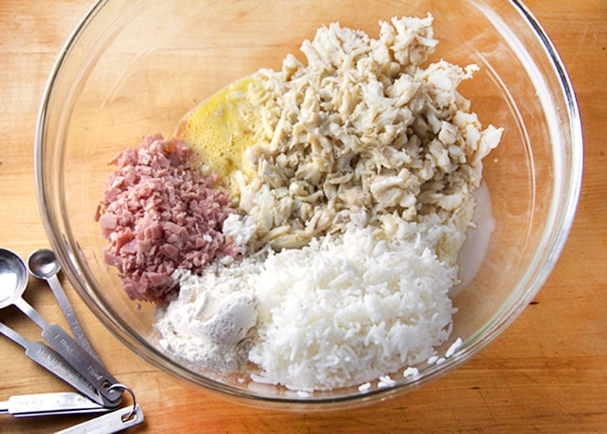 How to make Royal Thai Crab Cakes