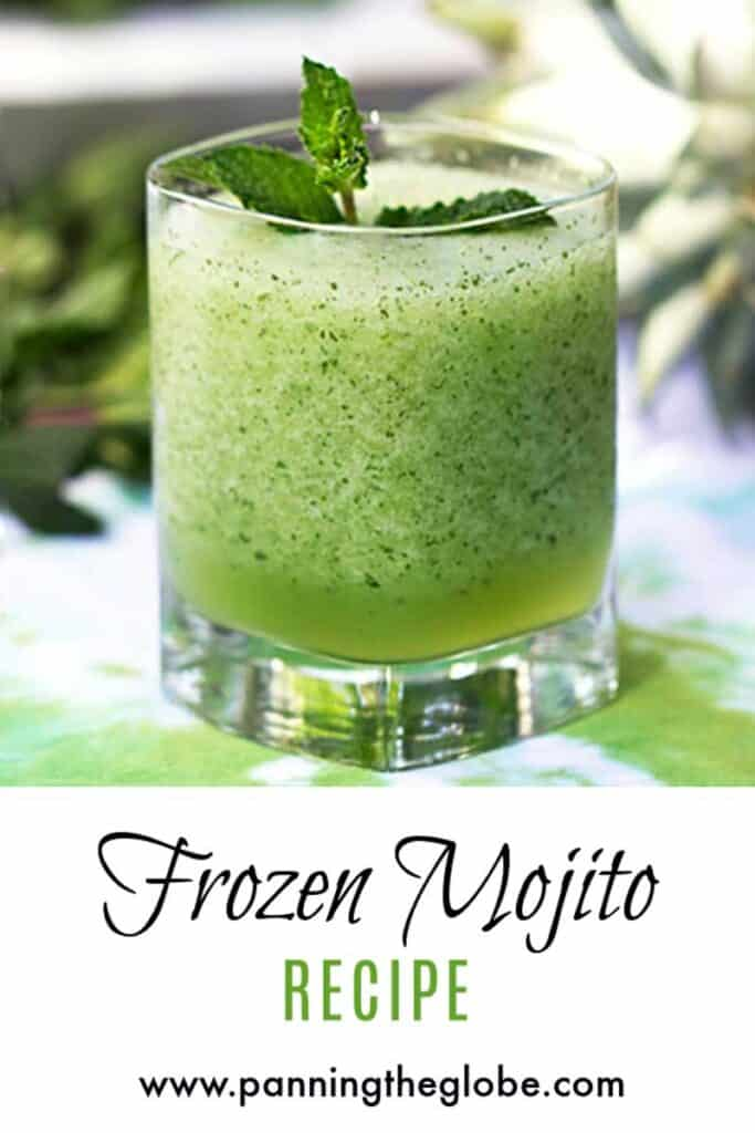 frozen mojito pin
