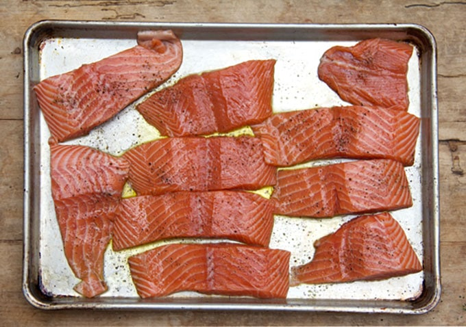 how to make perfect roasted salmon