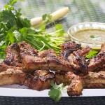 This BBQ ribs recipe is the best for entertaining because all the work is done ahead. You steam the ribs and marinate them overnight so they can soak up all the delicious flavors of coconut milk, lemongrass, cilantro, ginger, garlic, soy sauce and shallots. Just before serving, you throw the ribs on the grill for a few minutes and they're ready to enjoy!
