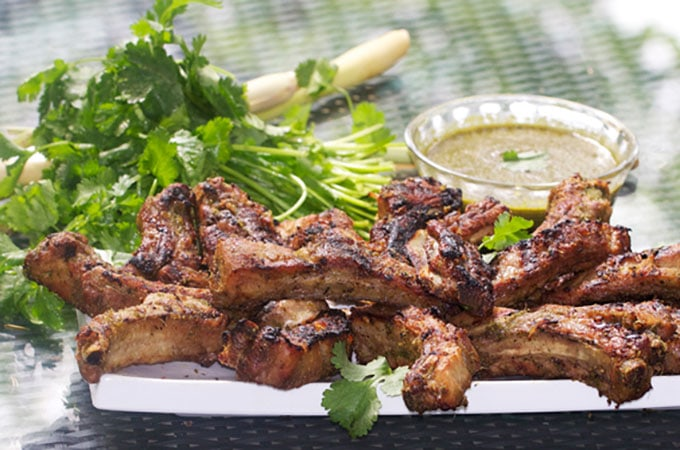 Thai Coconut BBQ Ribs by Panning The Globe