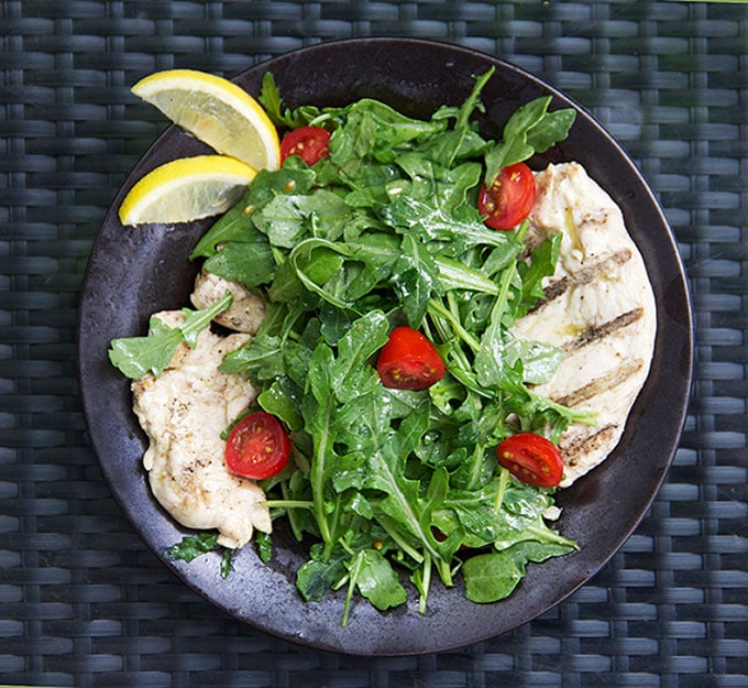 Recipe for Chicken Paillard Italian Style - Panning The Globe