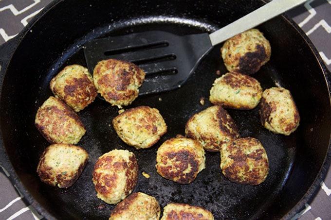 falafel meatballs