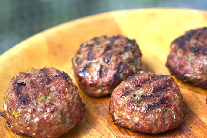 Korean BBQ Burgers - Panning The Globe