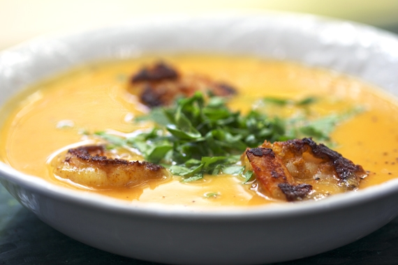 coconut sweet potato soup