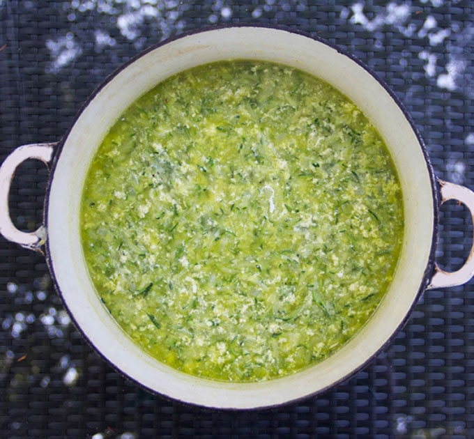 ... for Recipe for Italian Zucchini Egg Drop Soup - Panning The Globe