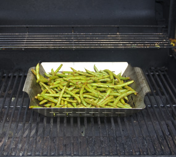 grilling string beans