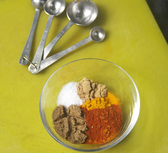 how to make satay spice mix