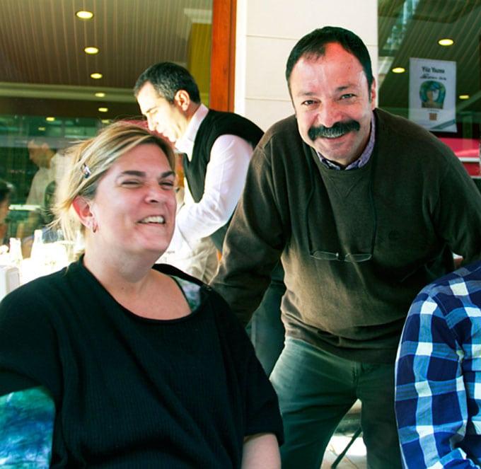 Istanbul-ciya with Ana and Musa