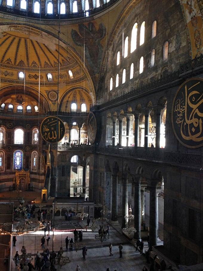 Istanbul-inside-hagia-sofia
