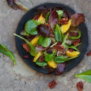 My Favorite Holiday Salad | Panning The Globe