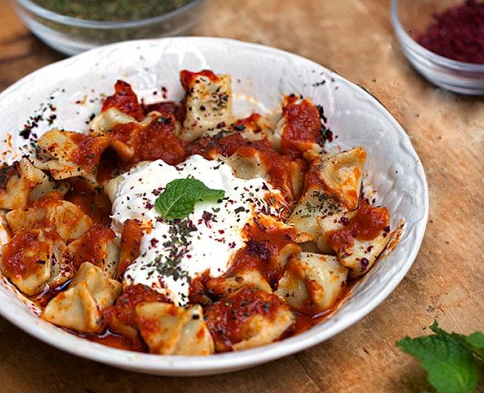recipe for Turkish Manti