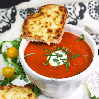 Oven Grilled Cheese and Tomato Soup – Panning The Globe