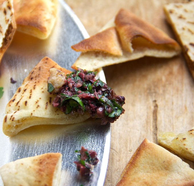 Spicy Turkish Tapenade | Panning The Globe