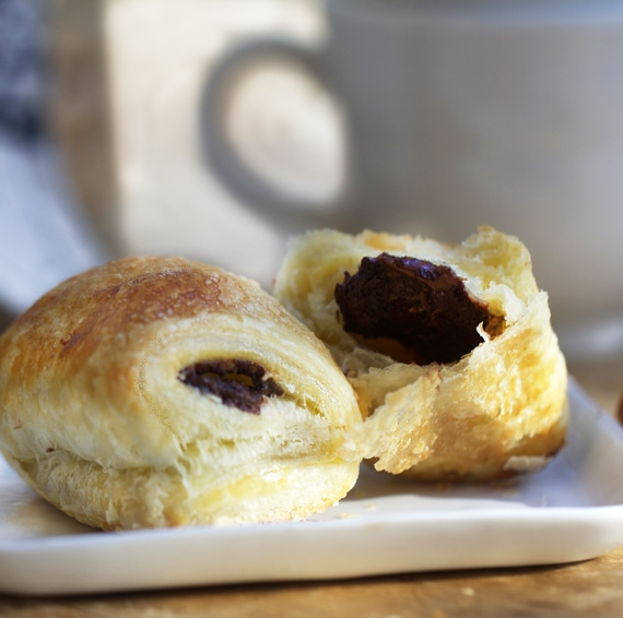 recipe for pain au chocolat