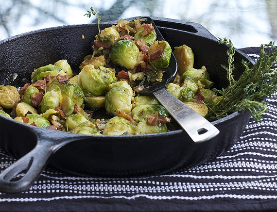 skillet-brussels-sprouts
