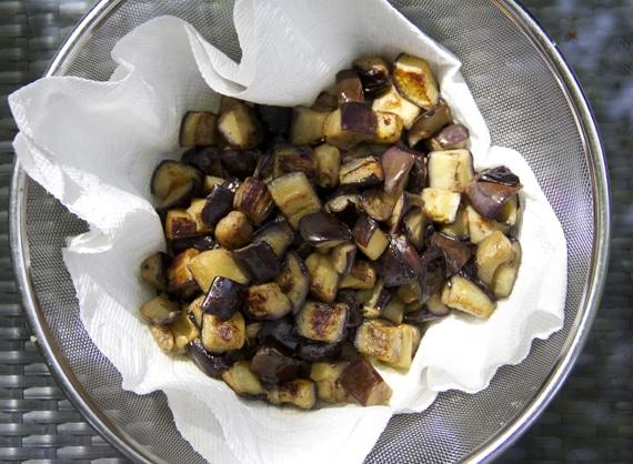 sauteed eggplant