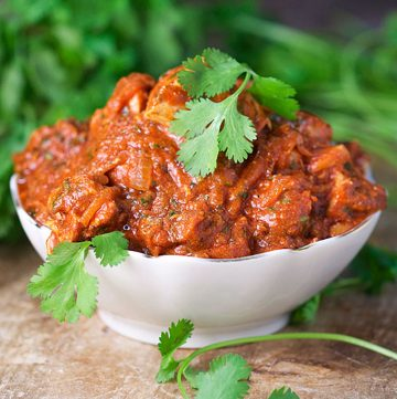 It's easy to make delicious chicken tikka masala at home. Your grill is the perfect substitute for a tandoor oven. Marinate, grill and coat chicken with scrumptious creamy tomato sauce flavored with ginger, garlic and wonderful Indian spices. Serve with rice to soak up the delicious sauce.