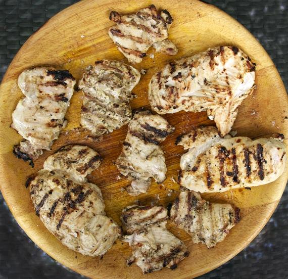 grilled marinated chicken
