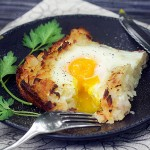 Rosti: Shredded Potato Casserole with Ham and Eggs | Panning The Globe