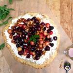 Fresh Cherry Tart | Panning The Globe