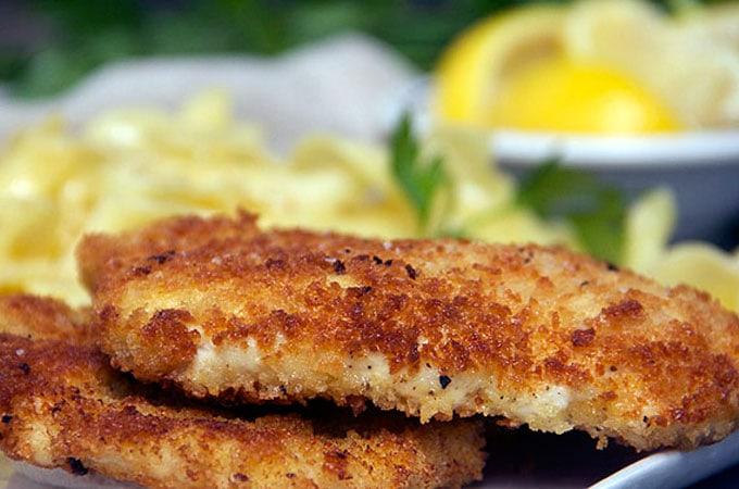 Best chicken schnitzel recipe
