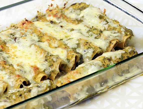 chicken enchiladas verdes recipe