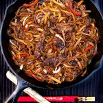 Chinese Fun Noodles with Beef