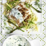 nordic haddock vegetables and almond gremolata by panning the globe