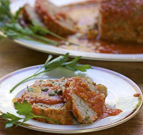 sicilian turkey meatloaf recipe