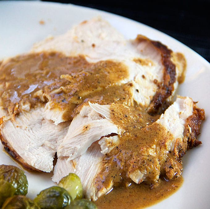 Spicy Yogurt Marinated Turkey - Tender and delicious | Panning The Globe