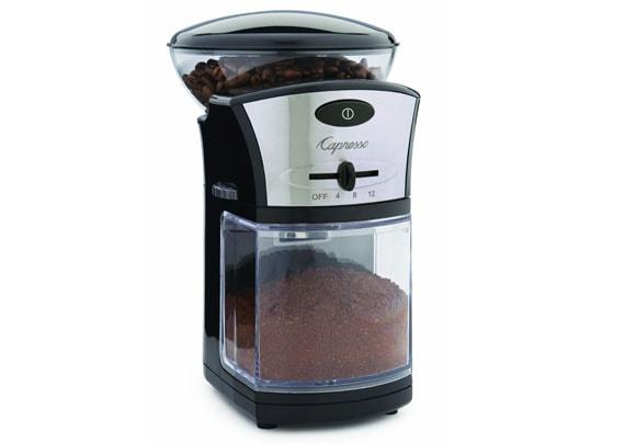 Capresso burr coffee grinder
