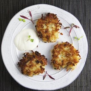 delicious potato latkes - easy recipe