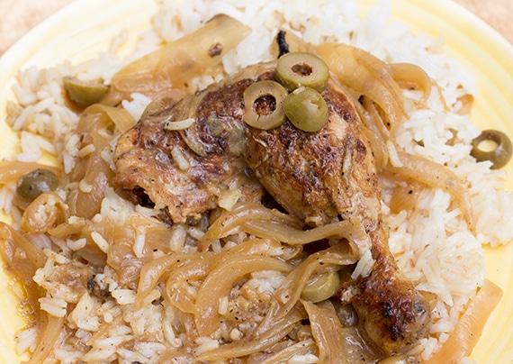 Chicken Yassa from Senegal