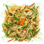 7 Flavor Precious Chicken: a quick delicious Chinese stir fry with Chicken, vegetables and noodles. 30 minutes.