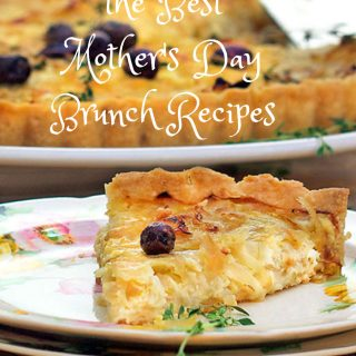 Best Mother's Day brunch recipe: French Onion Tart