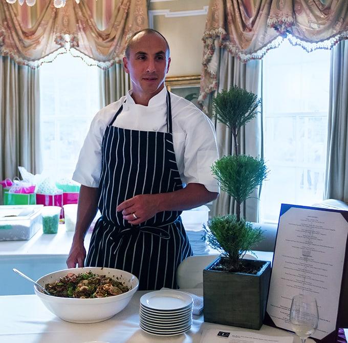 Chef Michael Leviton of Lumiere