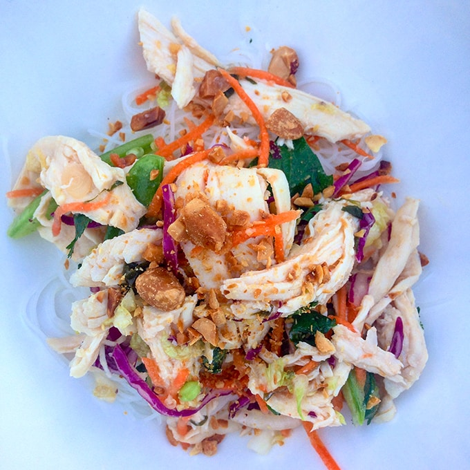 Southeast Asian Chicken Salad by Chef Punch