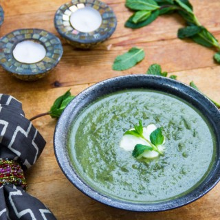 Syrian Spinach Soup